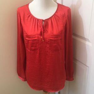 The Limited | M | Red Blouse